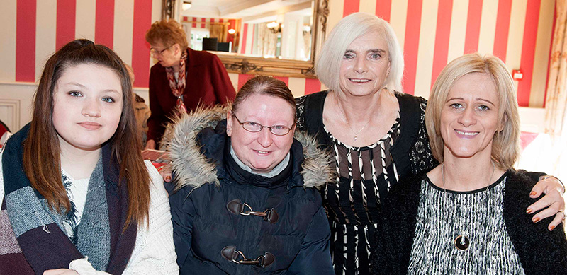 Pictured at RWN Chat Show in Gleeson's to mark International Women's Day were Kyra Mania, Imelda Flanagan, Philomena Hourigan and Alice Cahill. Picture: Andrew Fox